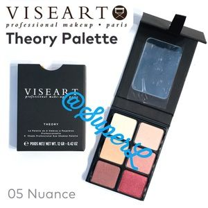NEW VISEART Theory Palette 05 Nuance Eyeshadow